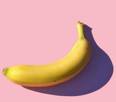 plátano para mascarilla casera para rizos