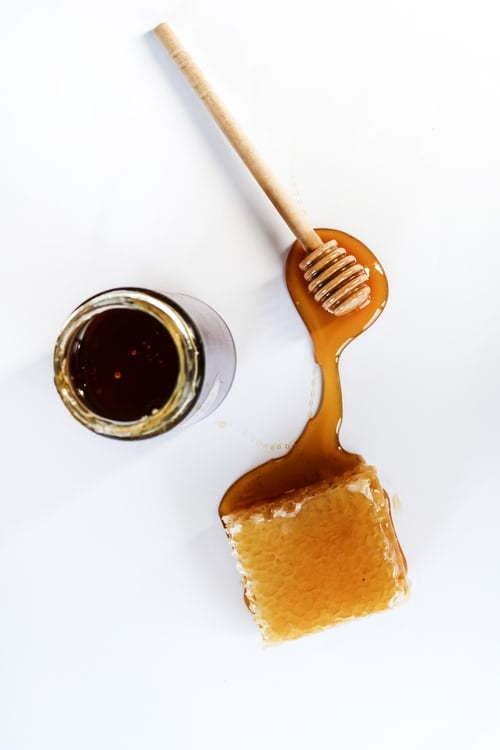 miel para mascarilla casera para rizos